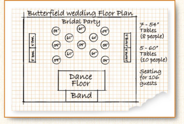 Two Carrot Catering Floor Plan